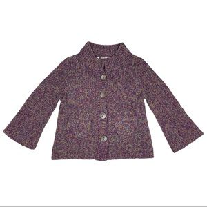 Habitat Clothes To Live In Cardigan Sweater Small